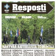 Jäsenlehti Resposti ilmestyy 6.10.