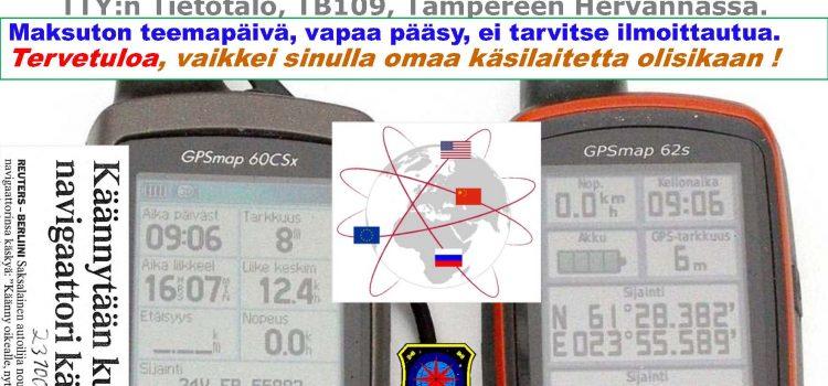 GPS-TEEMAPÄIVÄ 24.03.2018