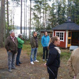 Jäsenilta Sillanpää-majalla 4.10.2019