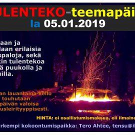 TULENTEKOPÄIVÄ 05.01.2019