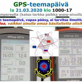 GPS-teemapäivä 21.03.2020
