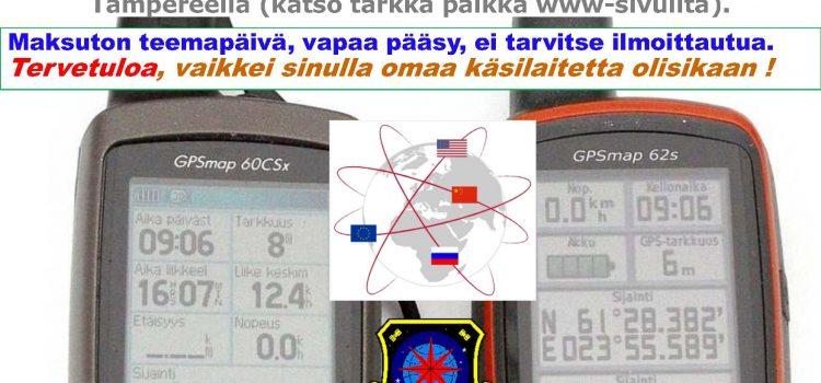 GPS-teemapäivä 21.03.2020 => Siirretty eteenpäin!!!